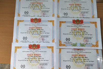 Học sinh trường tiểu học Nguyễn Huệ đạt thành tích cao trong 2 ngày Giao lưu Olympic tài năng tiếng anh cấp huyện năm học 2020 – 2021