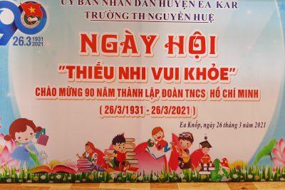 Học sinh trường tiểu học Nguyễn Huệ và các hoạt động kỉ niệm ngày 26/3